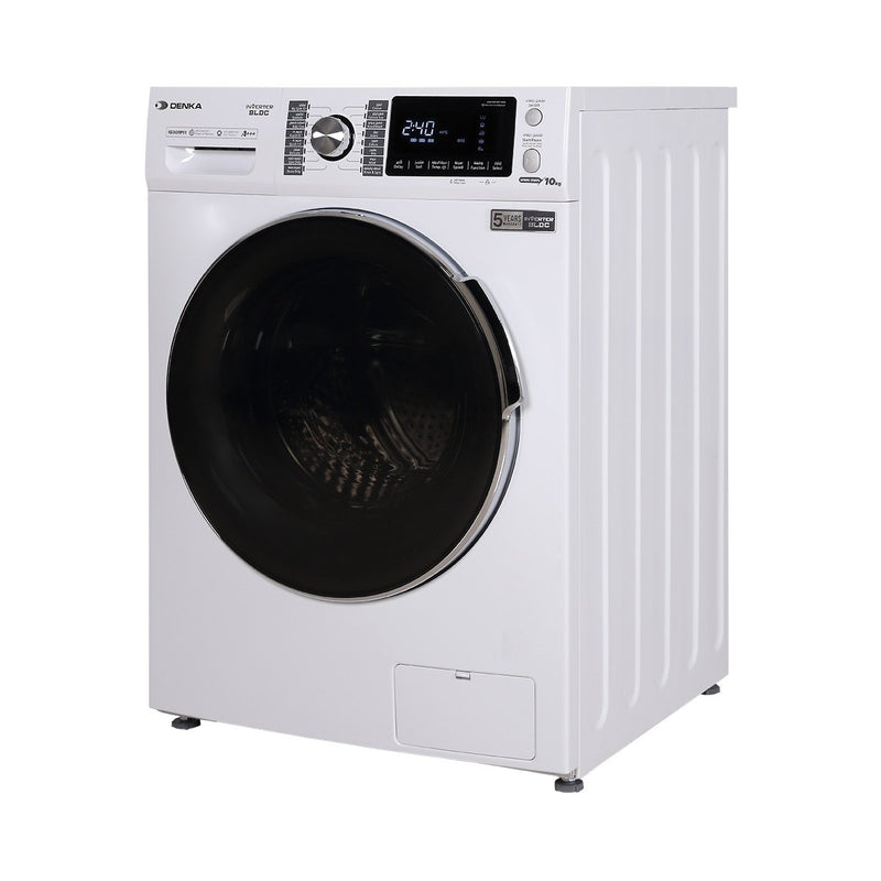 Front Loading Washing Machine 1600 RPM BLDC Inverter Motor 10Kg