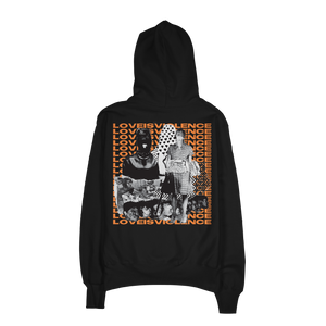 """Love Is Violence"" Champion® Hoodie"