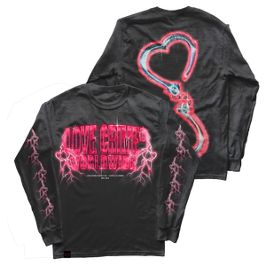 Pink Lightning Long Sleeve (Pre-Order)