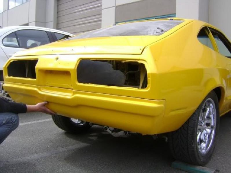 1974-1978 Mustang II Rear Tucked Bumper