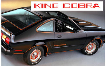 1978 King Cobra Door Name Decal