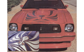 1978 King Cobra Hood Snake Decal