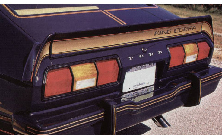 1978 King Cobra Spoiler Stripe Kit
