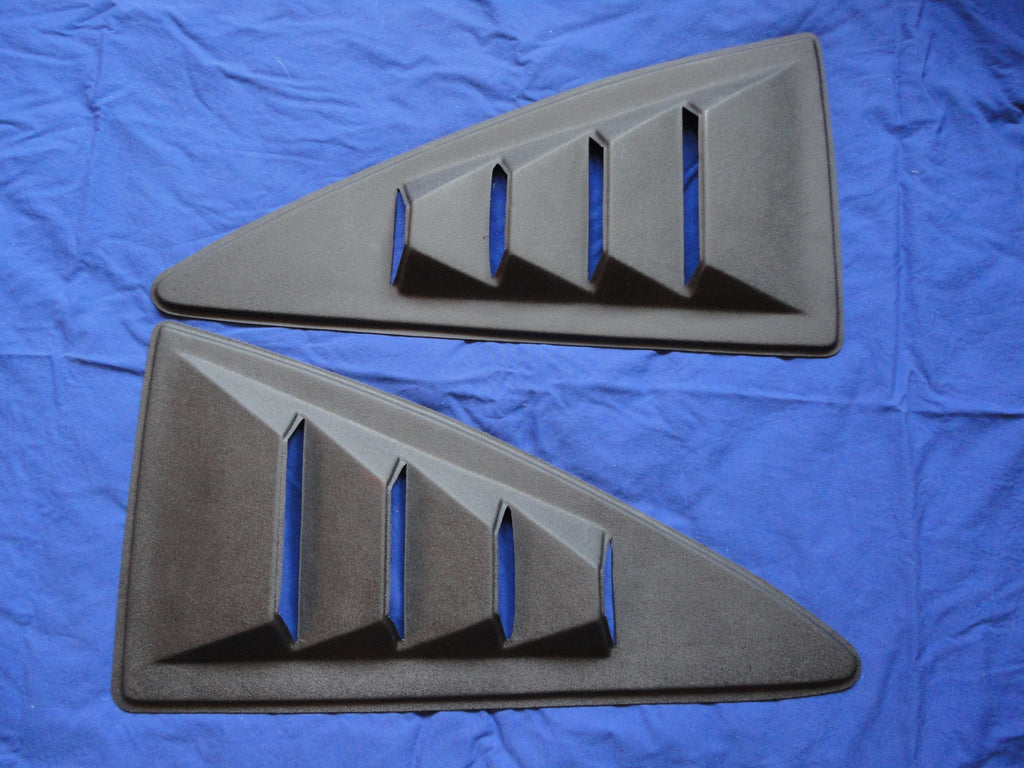 1974-1978 Mustang II Reproduction Side Window Louvers - ABS Plastic