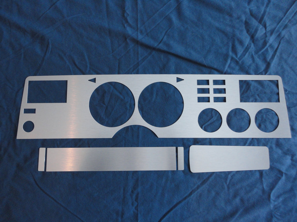 1975-1978 Mustang II Brushed Aluminum Dash Insert Kit