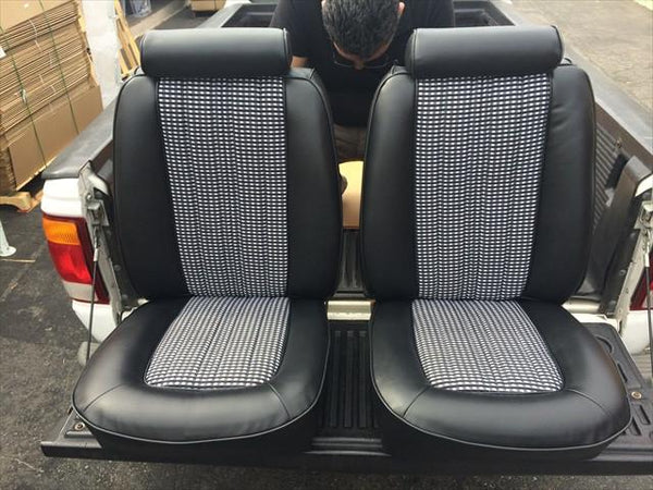 1978 Mustang Ii Upholstery Kit Houndstooth Nos Material