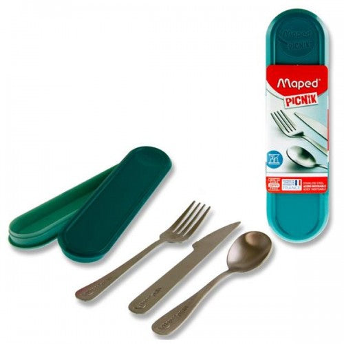 Cutlery Green Box (Fork, Knife, Teaspoon)