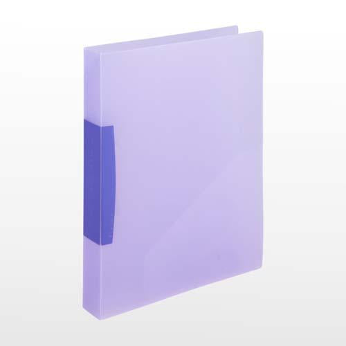 Flexi File Trsp 25Mm A4-2D  Purple