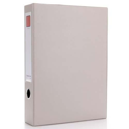 Box File Pvc Magnetic A4 55Mm-Grey