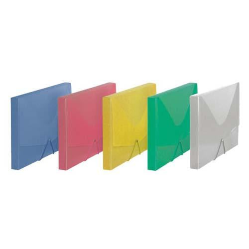 Document Case A4 30Mm Trsp Elastic Pp