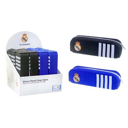 Real Madrid Silicone Pencil Case