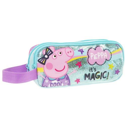 Peppa Pig 2 Zip Pencil Case