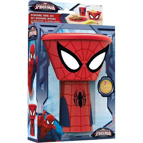 Spiderman Breakfast Set In Box