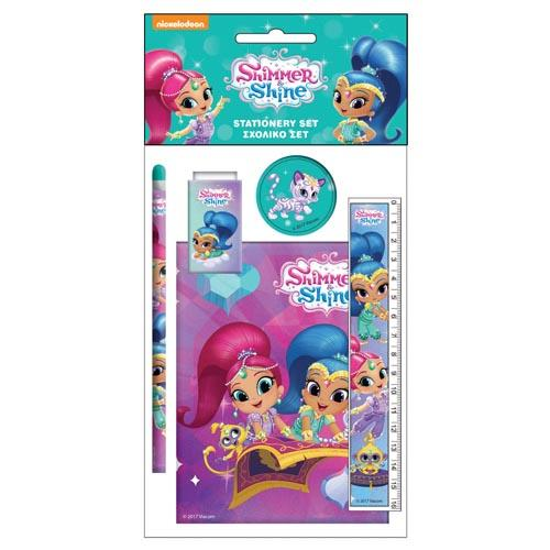 Shimmer & Shine Stationery Set