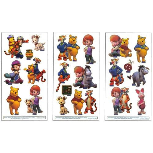 Tig & Pooh Laser Stickers