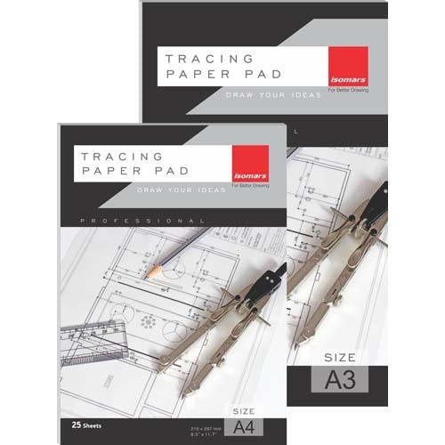 Tracing Paper Pad A4 25 Sheets