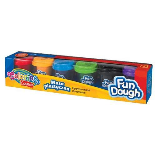 Fun Dough In Containers X 6 Pieces
