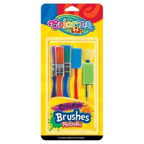 Brushes Creative In Blister X 6 Pcs