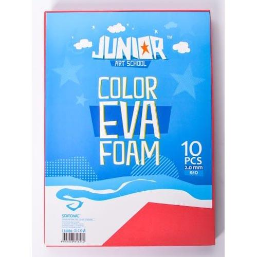 Eva Foam A4 Red