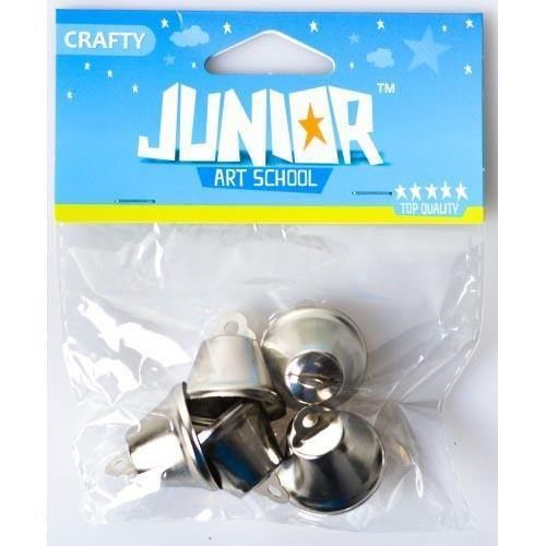 Bells Silver 26Mm 5Pcs