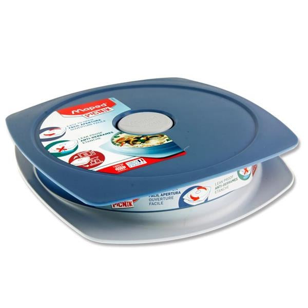Lunch Plate 900Ml Blue