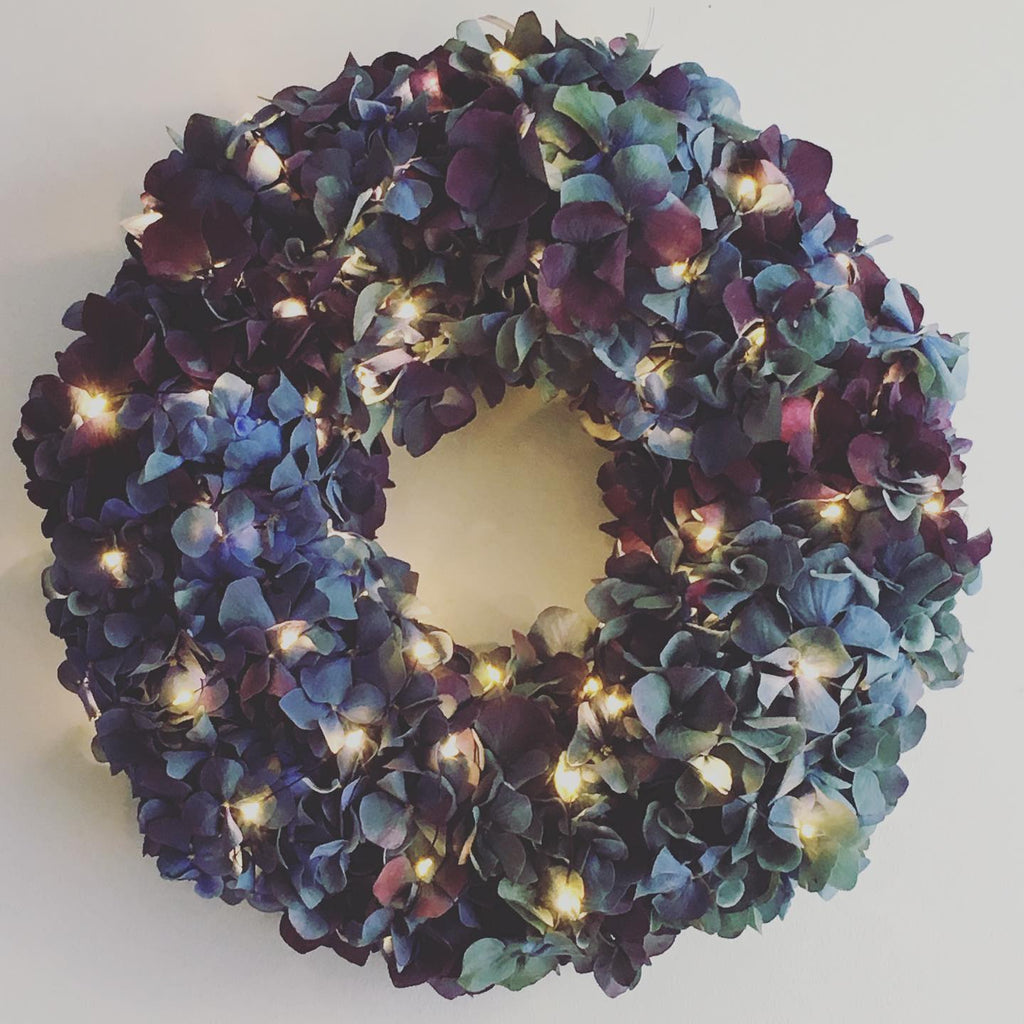 Hy Ho Hy Ho Wreath - The Nectary - Floral Styling