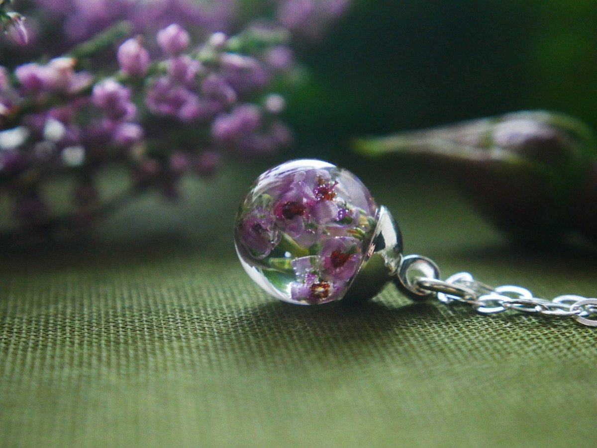 heather necklace - The Nectary - Floral Styling