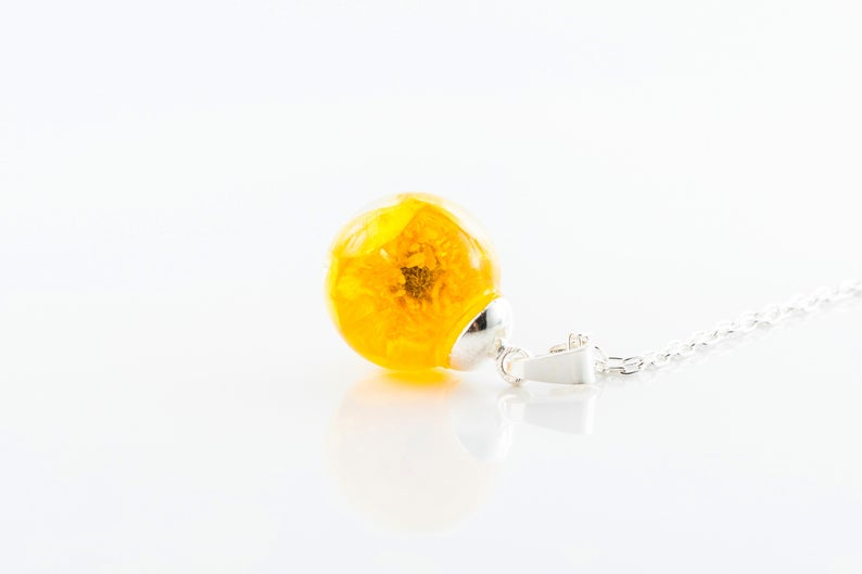 buttercup necklace - The Nectary - Floral Styling