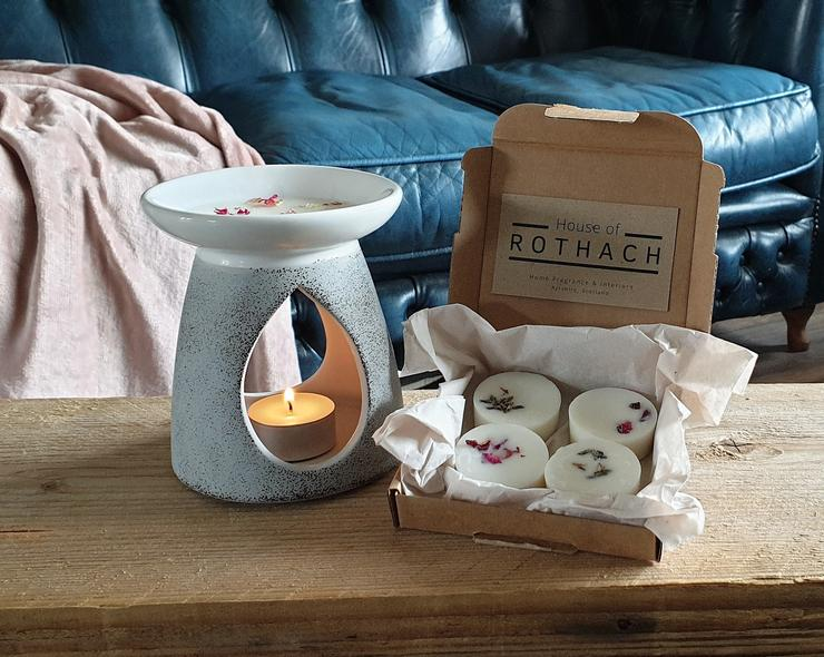 Amber and Lily Wax Melts - The Nectary - Floral Styling