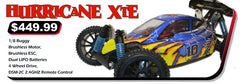 Hurricane XTE Buggy 1/8 Electric (With 2.4GHz Remote Control)