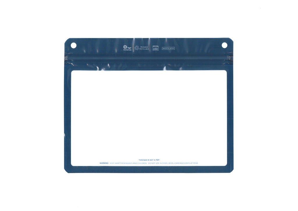 The Filler Clear Frame Steel Blue