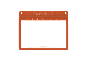 The Filler Clear Frame Orange