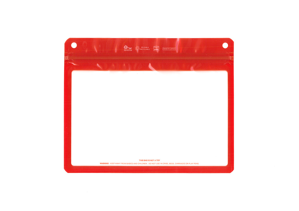 The Filler Clear Frame Dark Orange
