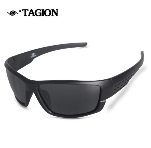 Tagion Polarized Sunglasses Men Brand Designer