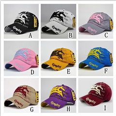 Cotton Men's Baseball Cap 14 Colors
