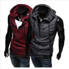 Sleeveless Hoody Vest