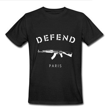 Willstyle Defend Paris AK47 Tee-Shirt