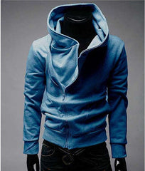 Men's Fashion High Collar Hoodie