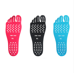Men Women Nakefit Stick On Soles Feet Sticker