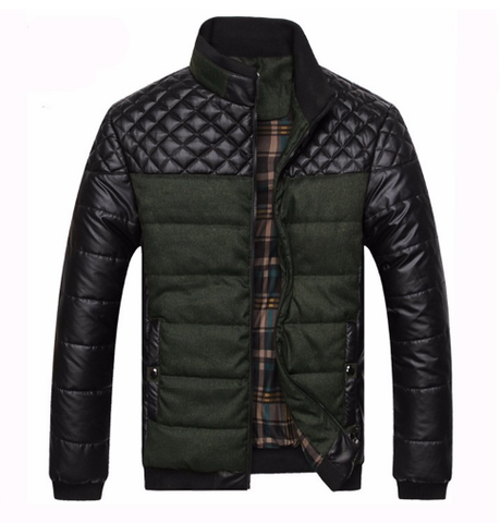 Mountainskin Men's Patchwork Designer Jackets Outerwear Winter Fashion