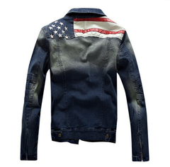 Mens USA Jeans Jacket