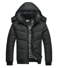 Men's Down Cotton-Padded Winter Jacket
