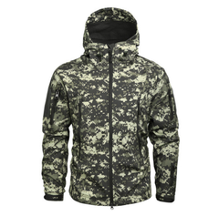 Men Military Jacket US Army Clothing Tactical Sharkskin Softshell Autum Winter Hoodies Outerwear Camouflage Jacket and Coat