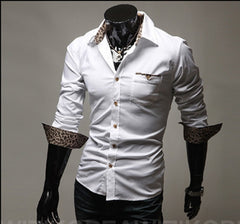 Men's New Leopard Design Shirt