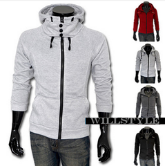 WS High Collar Hoodies