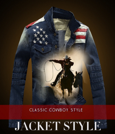 New Arrival Mens USA Jeans Jacket