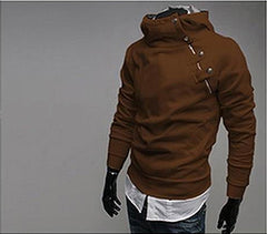 Hot High Collar Men's Sweatshirt