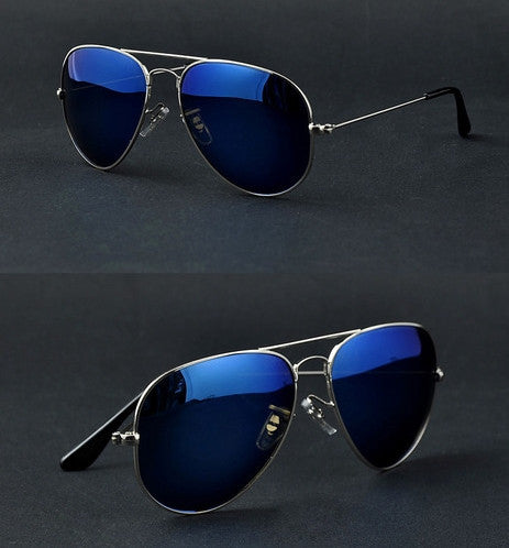 Vintage Aviator Style Sunglass Polarized Lenses 16 Colors