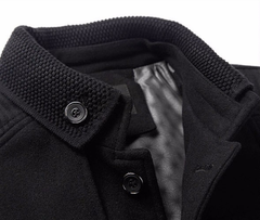 Brand Clothing Mens  Wool & Blends Autumn Winter Cashmere Jacket