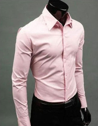 Willstyle Stylish Long Sleeve Shirt Pink
